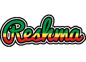Reshma african logo