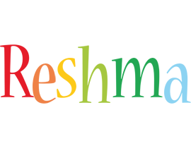 Reshma birthday logo