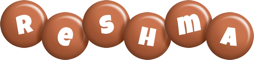 Reshma candy-brown logo
