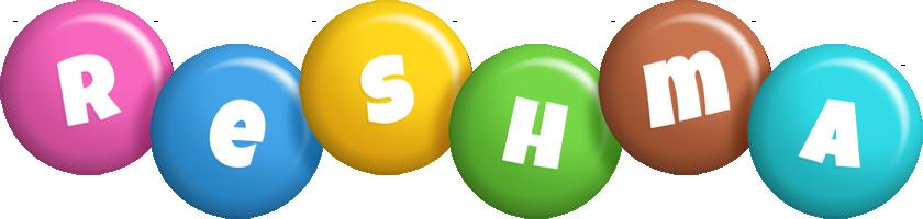 Reshma candy logo