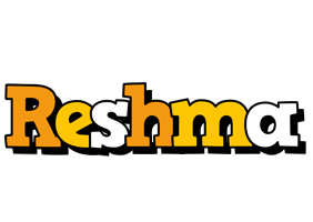 Reshma cartoon logo