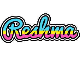Reshma circus logo