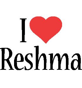 Reshma i-love logo