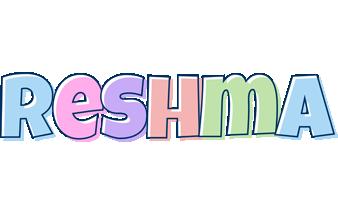 Reshma pastel logo