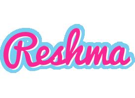 Reshma popstar logo