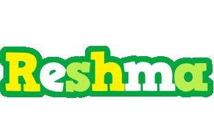 Reshma soccer logo