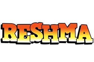 Reshma sunset logo