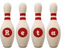 Reta bowling-pin logo