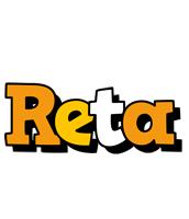 Reta cartoon logo
