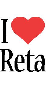 Reta i-love logo