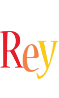 Rey birthday logo