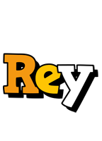 Rey cartoon logo