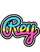 Rey circus logo