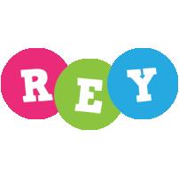Rey friends logo
