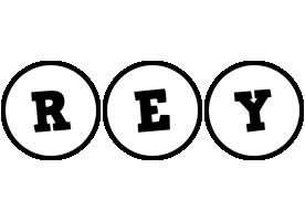 Rey handy logo