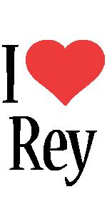 Rey i-love logo