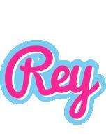 Rey popstar logo