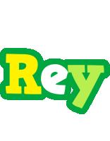 Rey soccer logo