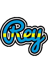 Rey sweden logo