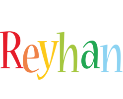 Reyhan birthday logo