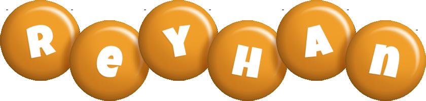 Reyhan candy-orange logo