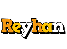Reyhan cartoon logo