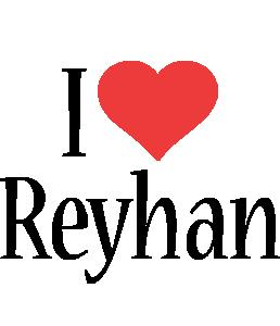 Reyhan i-love logo