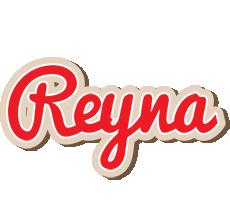 Reyna chocolate logo