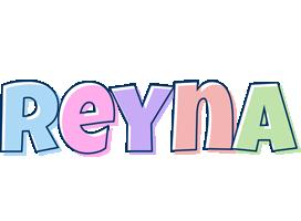 Reyna pastel logo