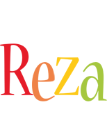 Reza birthday logo