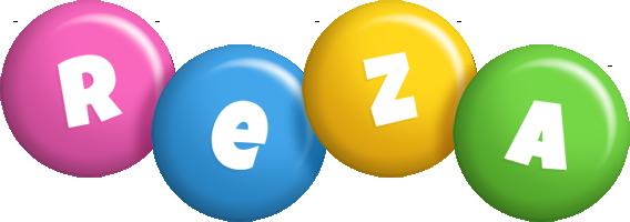 Reza candy logo