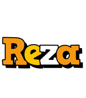 Reza cartoon logo