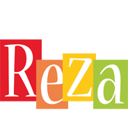 Reza colors logo