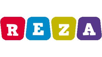 Reza daycare logo