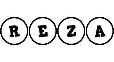 Reza handy logo