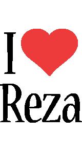 Reza i-love logo