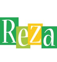 Reza lemonade logo