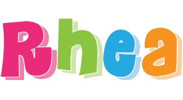 Rhea friday logo