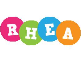 Rhea friends logo