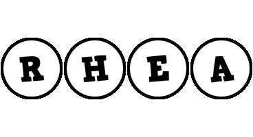 Rhea handy logo