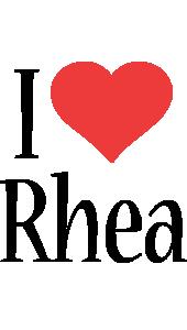 Rhea i-love logo