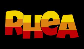 Rhea jungle logo