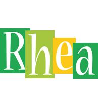 Rhea lemonade logo