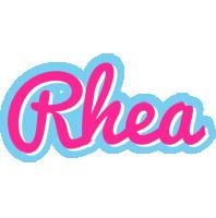 Rhea popstar logo