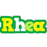Rhea soccer logo