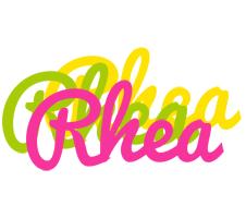 Rhea sweets logo