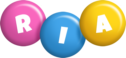 Ria candy logo