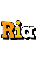 Ria cartoon logo