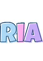 Ria pastel logo