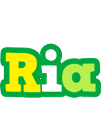 Ria soccer logo
